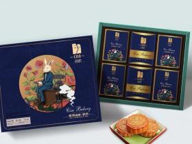 西萨月饼 塞纳河畔秋色月饼礼盒,郑州西萨月饼厂家